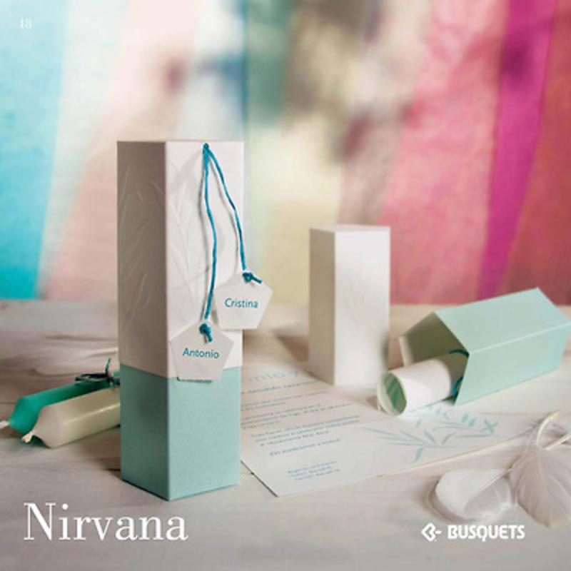 Invitación Nirvana. Impresión incluida.