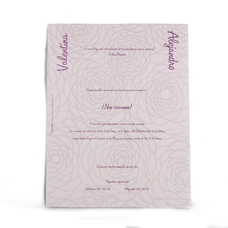 Invitación busquets ref.3204018116M. Impresión GRATIS