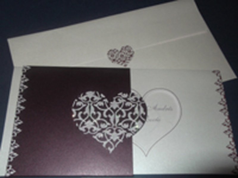 Invitación cardnovel Ref.50611 Impresión GRATIS