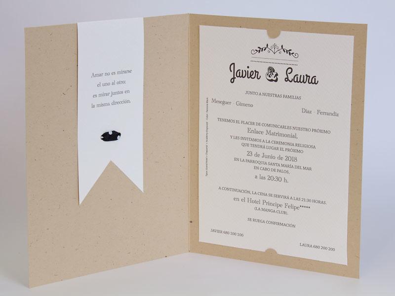 Invitación de boda 100717
