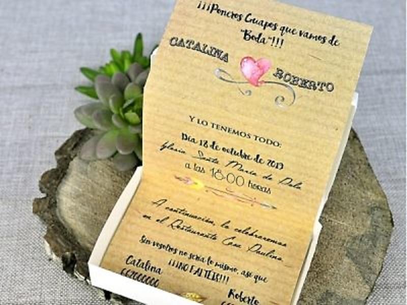 Invitación de boda 39309