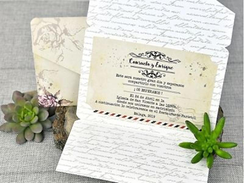 Invitación de boda 39313