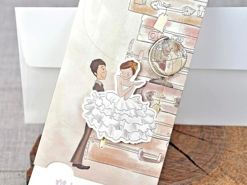 Invitación de boda 39324