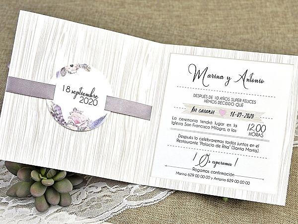 Invitación de boda 39613