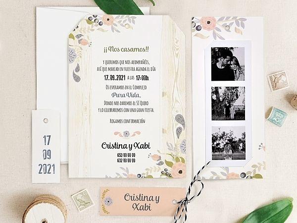 Invitación de boda 39725