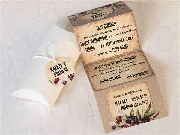 Invitación de boda 39800