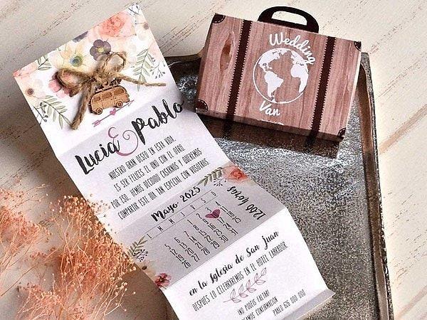 Invitación de boda 39802