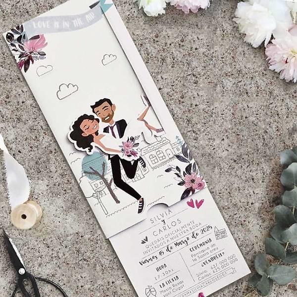 Invitación de boda 39816