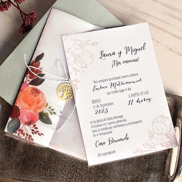 Invitación de boda 39819
