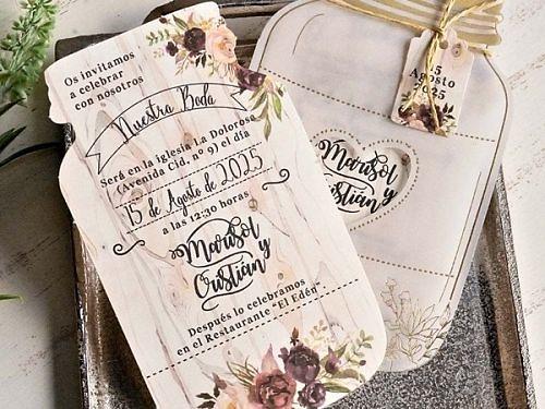 Invitación de boda 39827