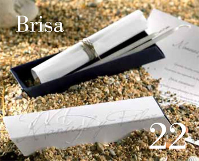 Invitación de boda Brisa Ref.15327 IMPRESION INCLUIDA