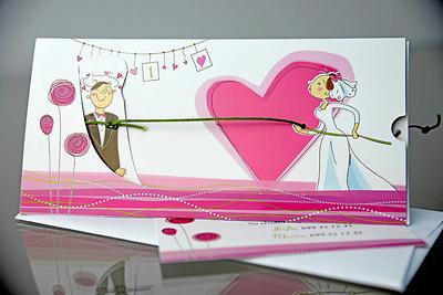 Invitación de boda Cardnovel 34905 Impresión GRATIS