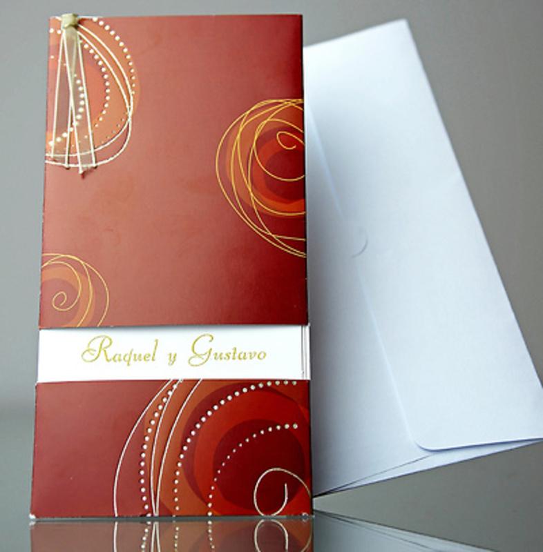 Invitación de boda Cardnovel 34907 Impresión GRATIS