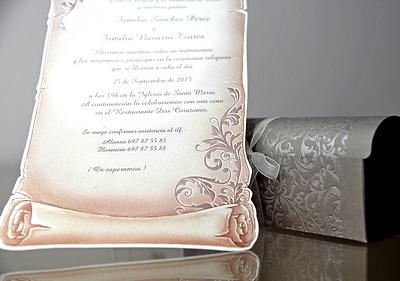 Invitación de boda Cardnovel 34909 Impresión GRATIS