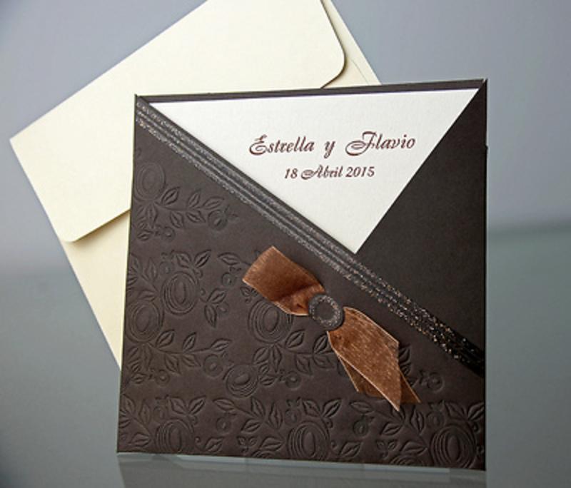 Invitación de boda Cardnovel 34914 Impresión GRATIS