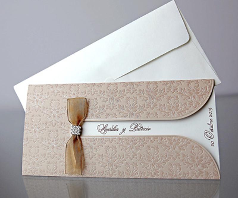 Invitación de boda Cardnovel 34922 Impresión GRATIS