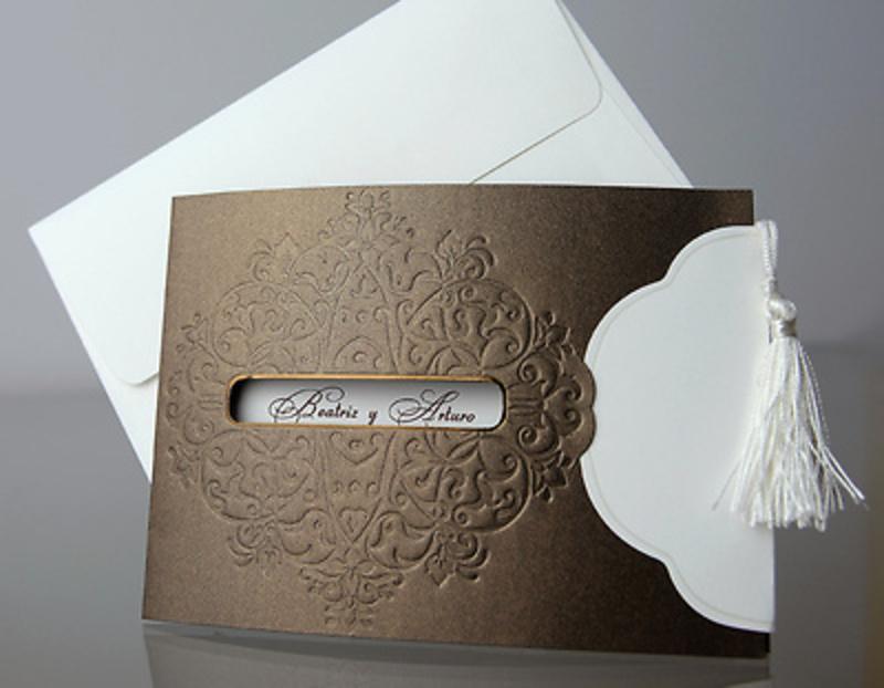 Invitación de boda Cardnovel 34931 Impresión GRATIS