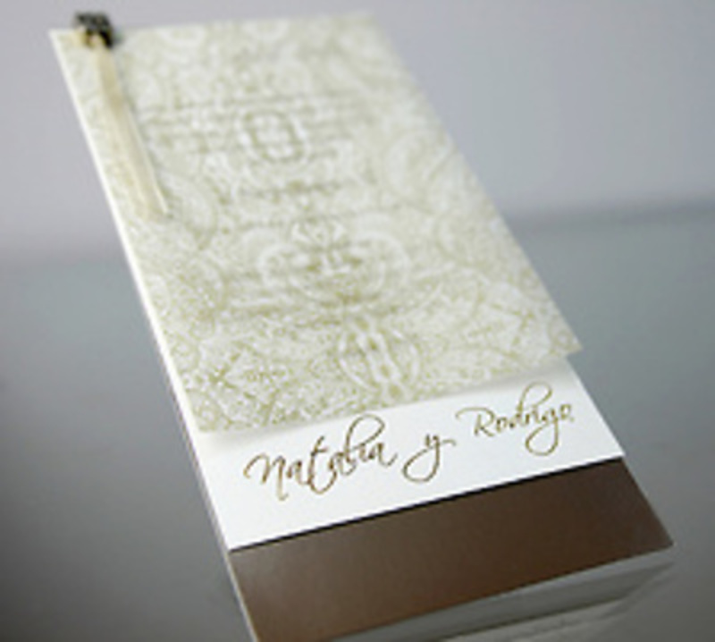 Invitación de boda Cardnovel 34952 Impresión GRATIS