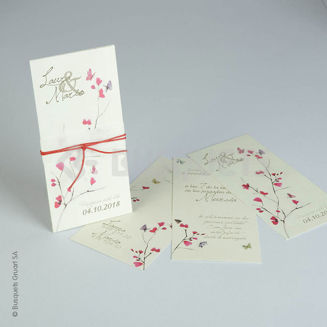 Invitación de boda Ref.18947 IMPRESION GRATIS