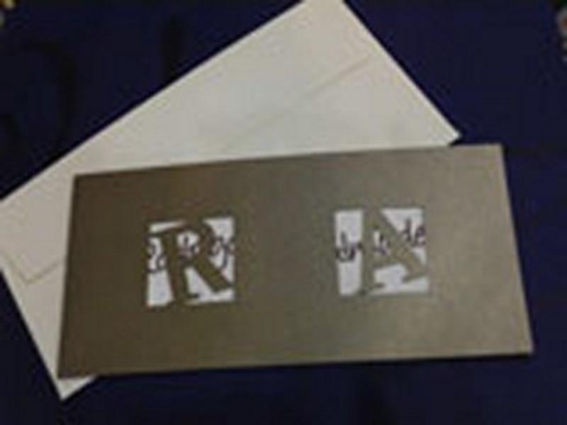 Invitación de boda Ref.10001 - IMPRESION GRATIS