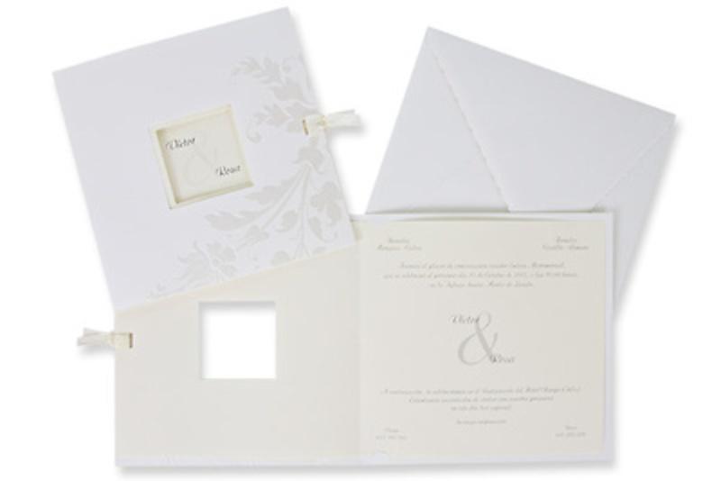 Invitación de boda Ref.100467 - Impresión GRATIS