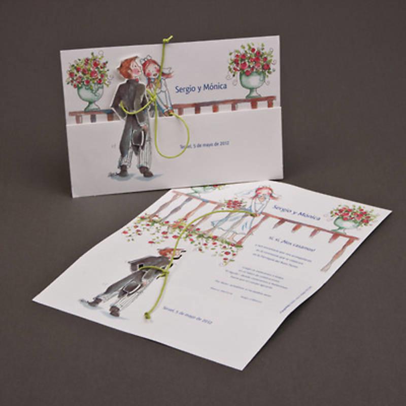 Invitación de boda Ref.3203813592 Impresión GRATIS