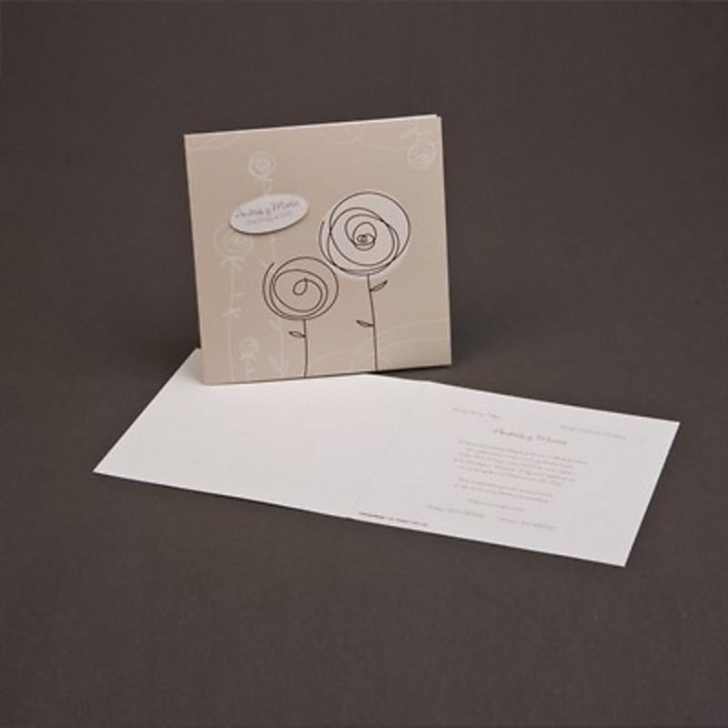 Invitación de boda Ref.3204014311 - Impresión GRATIS