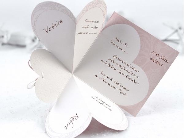 Invitación de boda cardnovel 32826