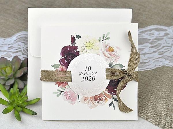 Invitación de boda cardnovel 39622 Impresión GRATIS
