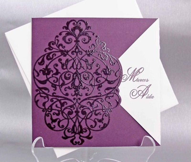 Invitación de boda cardnovel Ref.32812 IMPRESION GRATIS