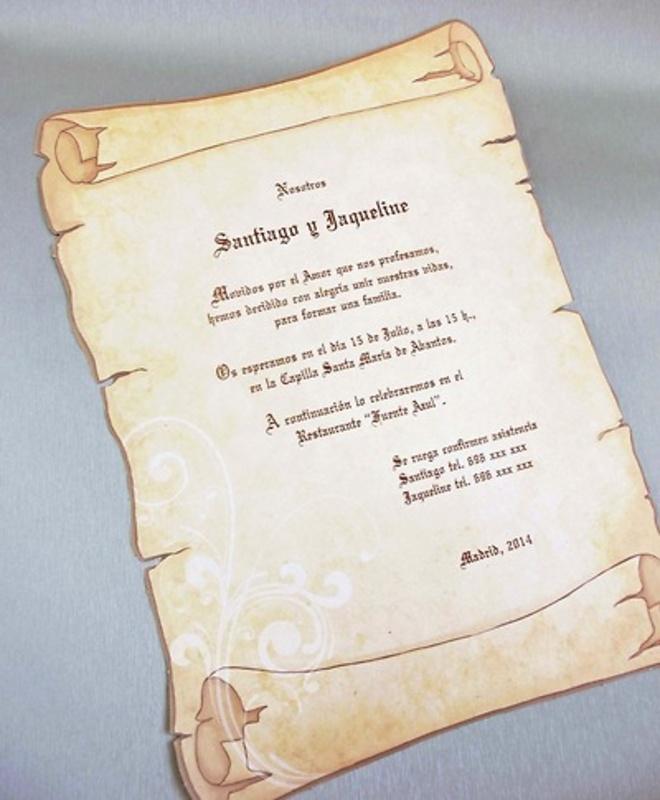 Invitación de boda cardnovel Ref.328302 IMPRESION GRATIS