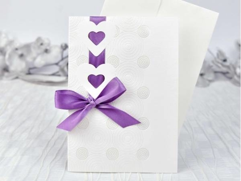 Invitación de boda cardnovel ref.39101.