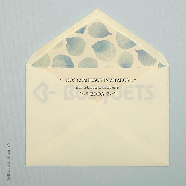 Invitación de boda elegance ref.18926