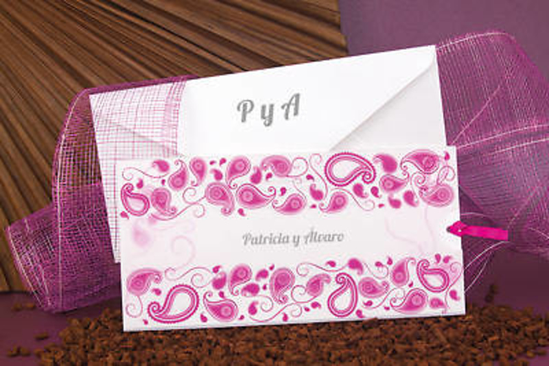 Invitación de boda ref.100671 - Impresión GRATIS.