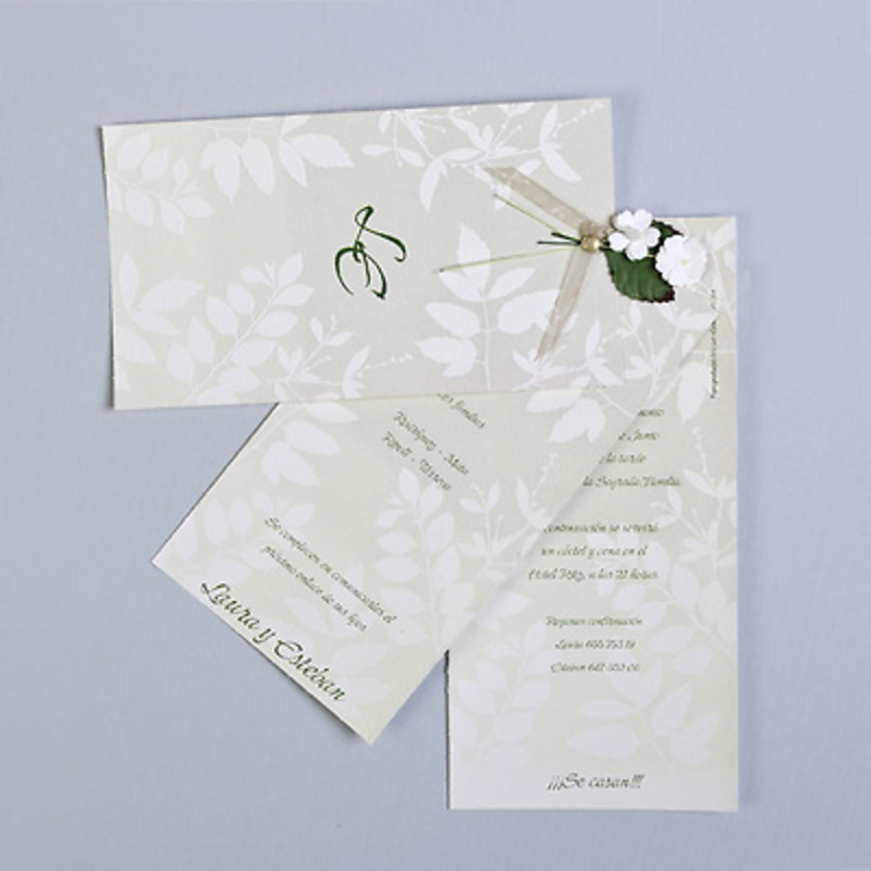 Invitación de boda ref.3215018519. Impresión GRATIS.