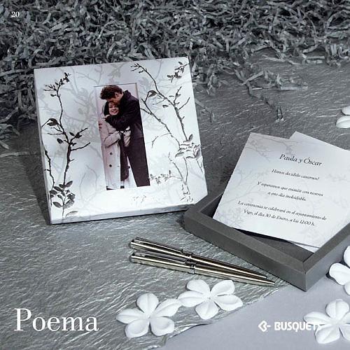 Invitación puzzle novia - Ref.3335113592