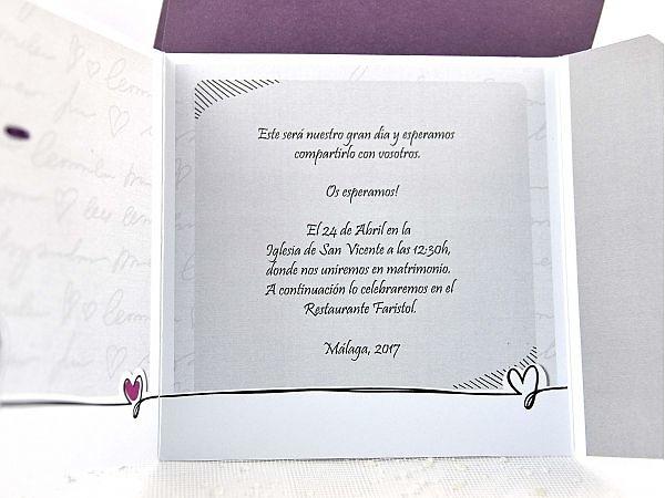 Invitaciones cardnovel 35641