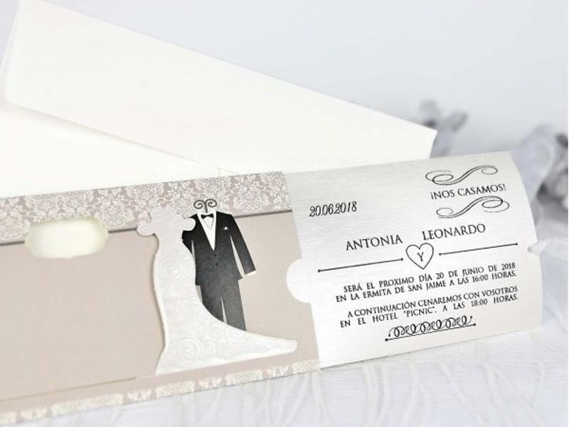 Invitaciones cardnovel 39205