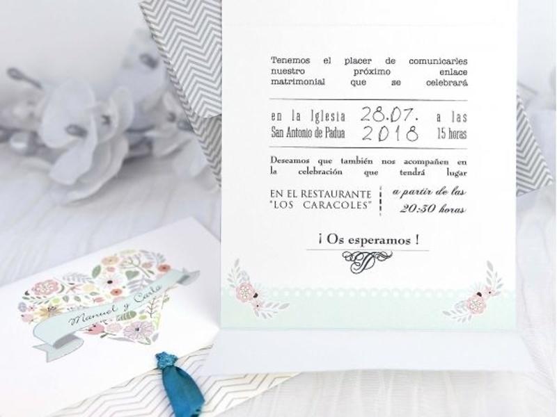 Invitaciones cardnovel 39232