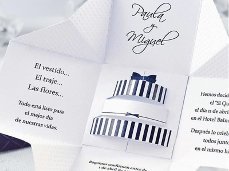 Invitaciones cardnovel ref 39107