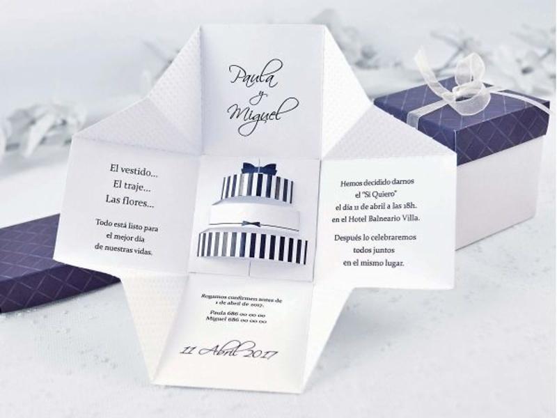 Invitaciones cardnovel ref.39107.