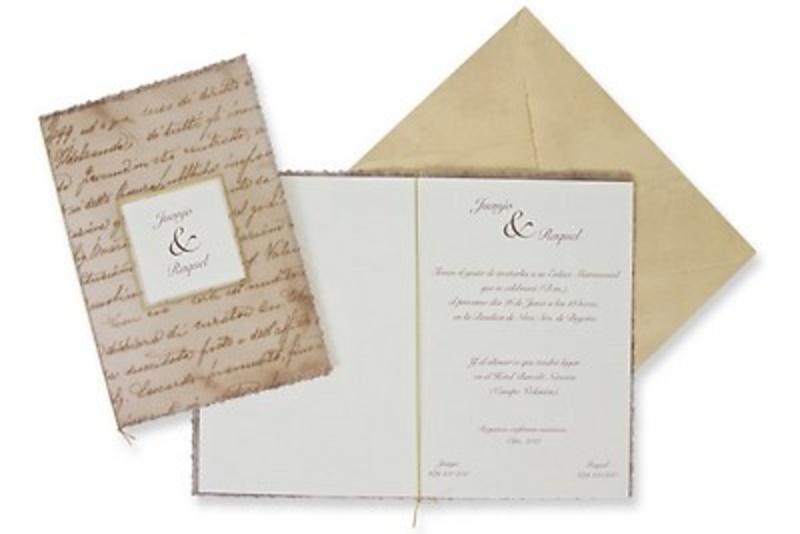Invitaciones ref.100316 - Impresión GRATIS.