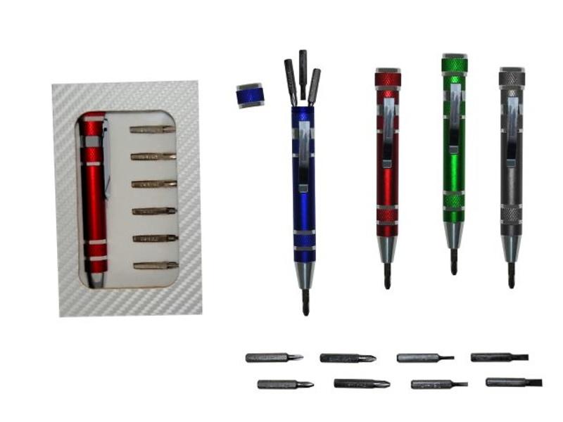 Kit destornillador 8 piezas