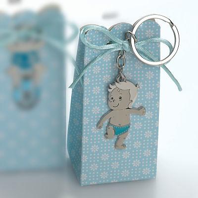 LLavero bebé en caja con peladillas. Ref.8447