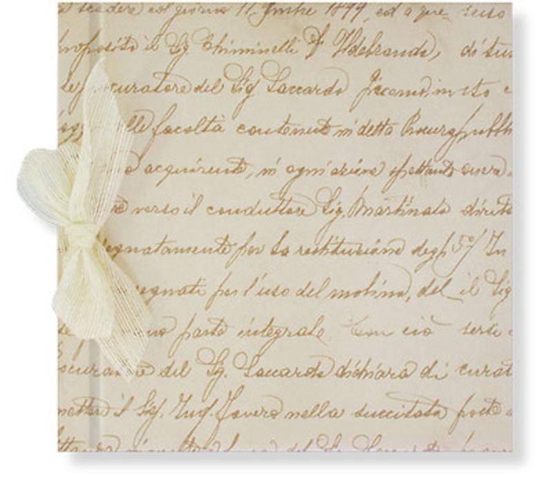 Libro de firmas letras Ref.700.003