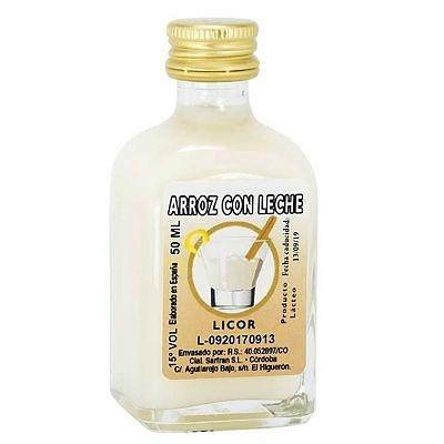 Licor de crema de arroz con leche 50 ml