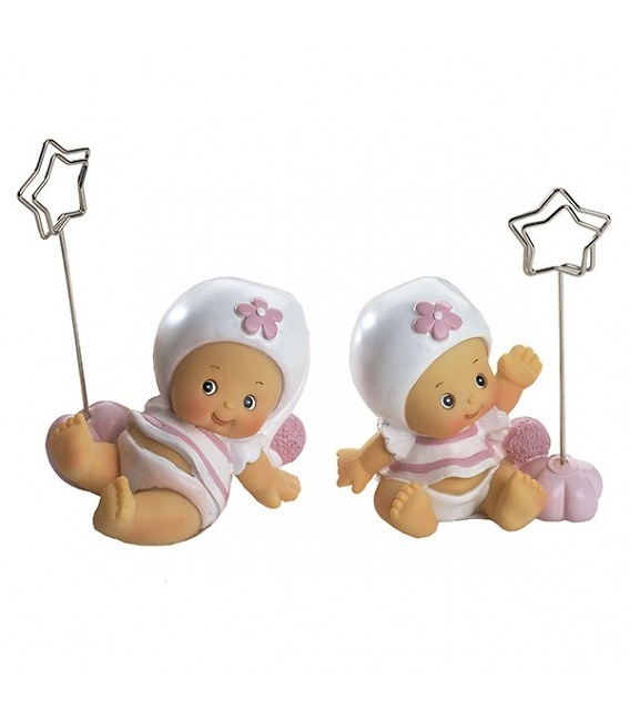 Porta tarjetas bebé niña pijama ref.1425