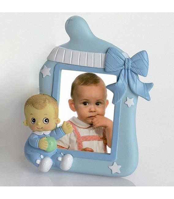 Portafotos bebé niño bracitos ref.1541