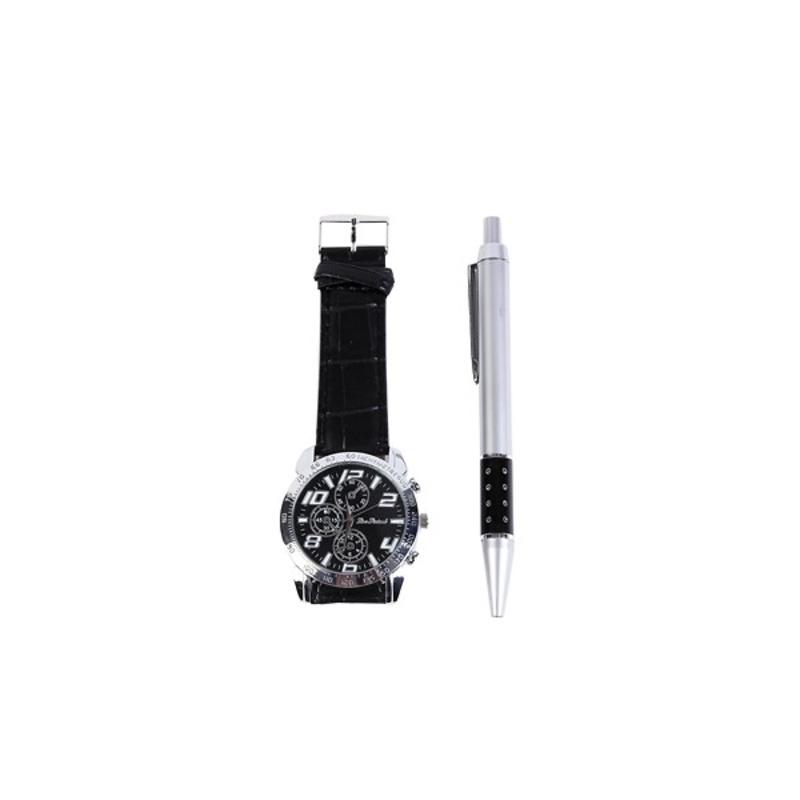 Reloj hombre y bolígrafo