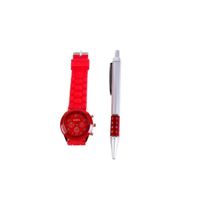 Reloj style silicona en caja de regalo